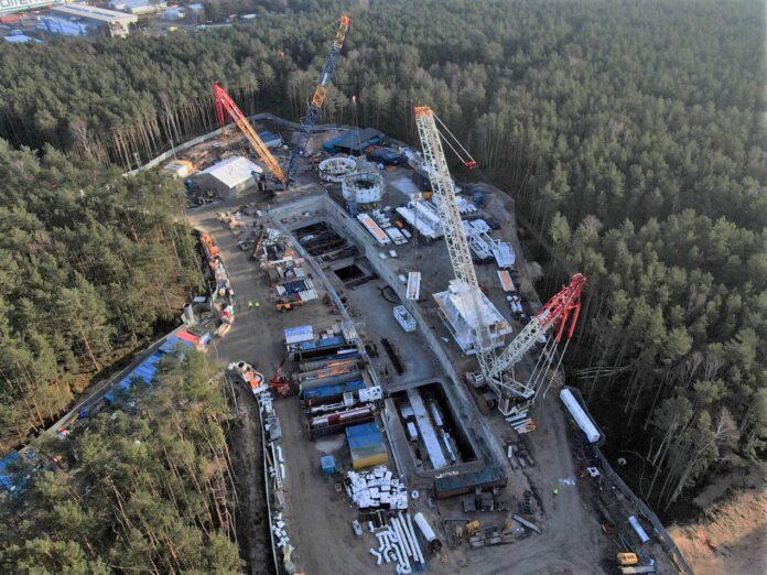 Plac budowy - TBM - UM Świnoujście