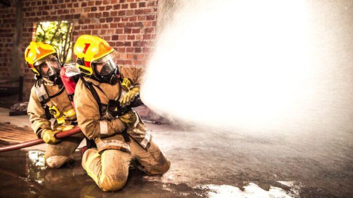 Pożar - akcja gasnicza