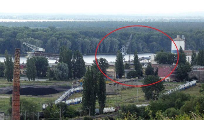 Szczecin: Wypadek w Alfa Terminalu. Operator wypadł z dźwigu