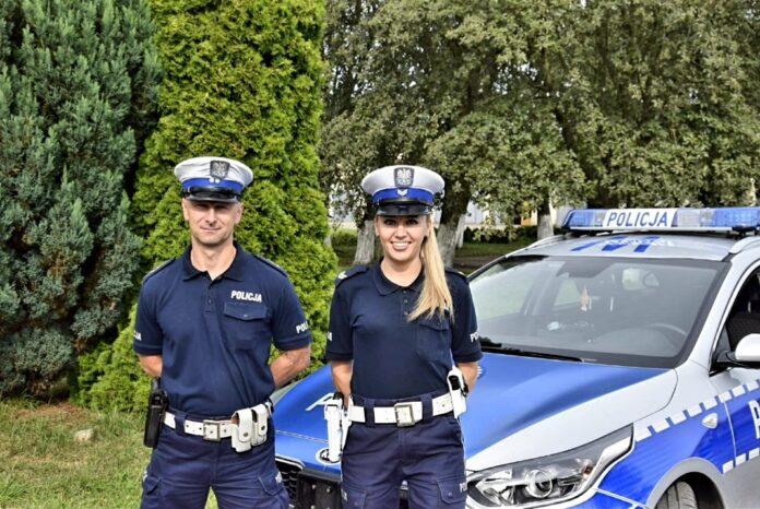 Pyrzyce: Policjanci pomogli uratować 8-latka